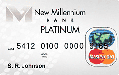 New Millennium Bank Secured Platinum Visa� or Mastercard�